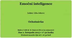 Klub zdraví - Emoční inteligence.